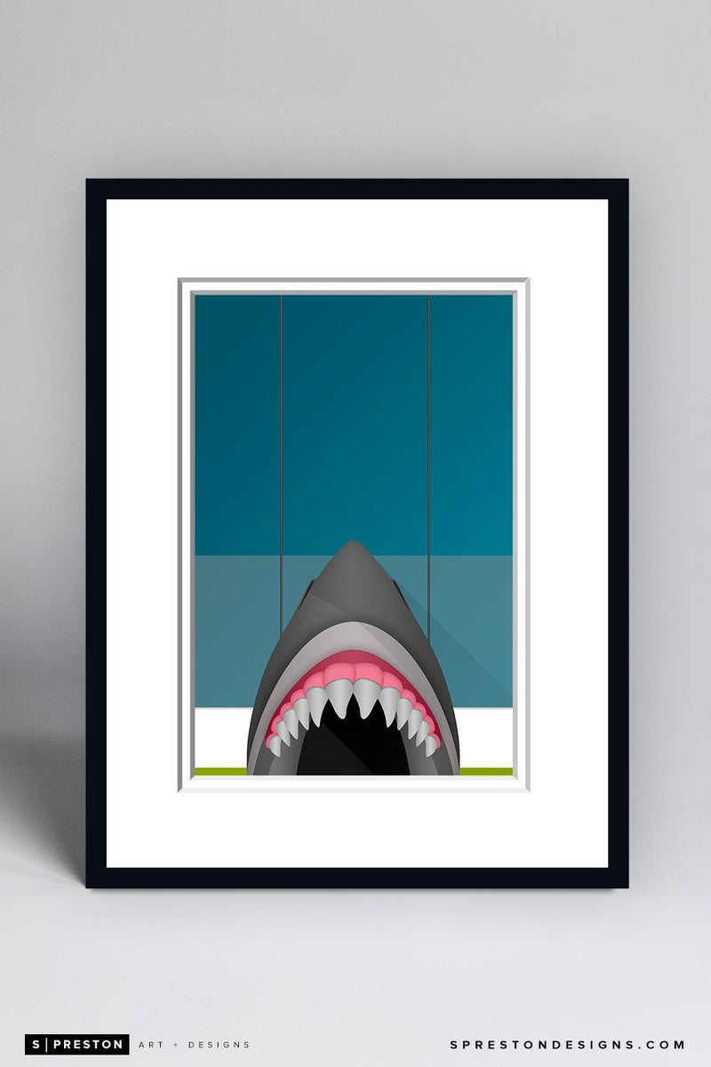 Minimalist SAP Center Framed - CLEARANCE