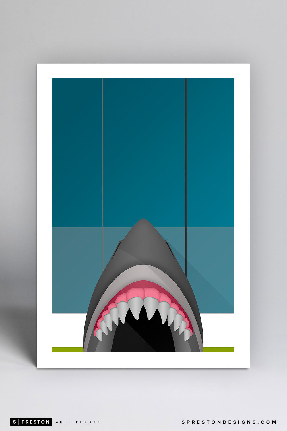 Minimalist SAP Center - San Jose Sharks - S. Preston