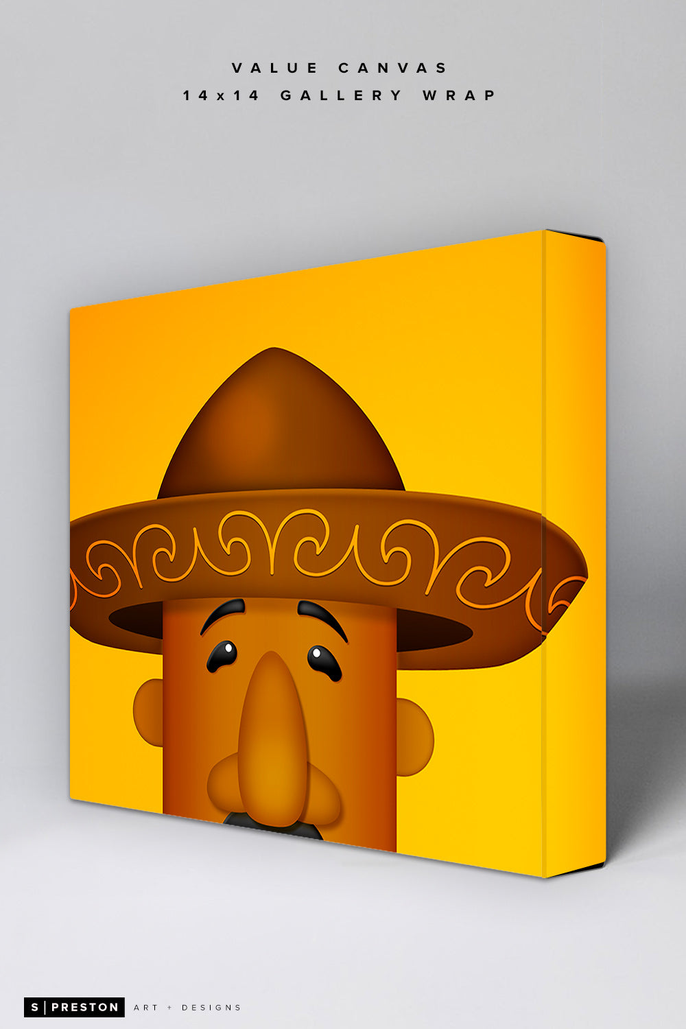 Minimalist Racing Sausage Chorizo Value Canvas