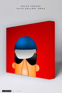 Minimalist Racing Sausage Polish Value Canvas CLEARANCE