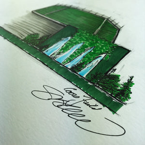Coors Field - Ink Sketch Collection - Colorado Rockies Limited Edition - Colorado Rockies - S. Preston Art + Designs