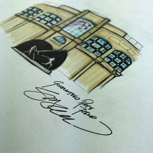 Guaranteed Rate Field - Ink Sketch Collection - Chicago White Sox Limited Edition - Chicago White Sox - S. Preston Art + Designs