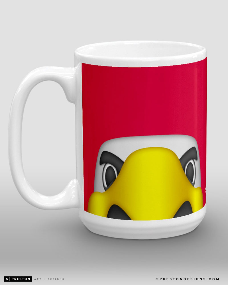 Minimalist Slapshot Coffee Mug - NHL Licensed - Washington Capitals Mascot