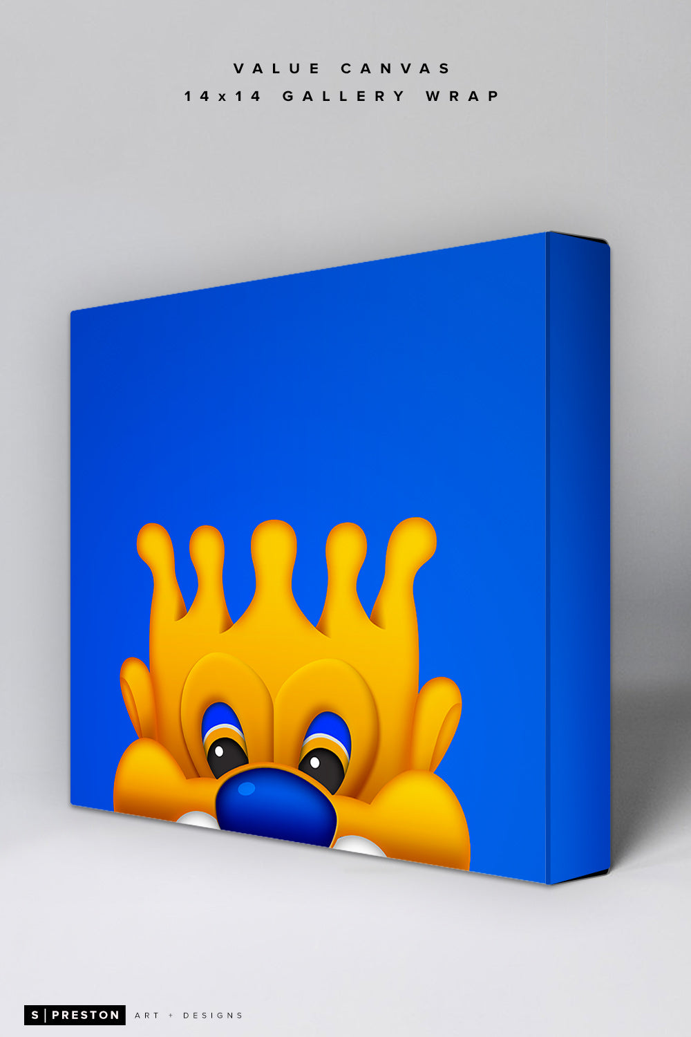 Minimalist Sluggerrr Value Canvas