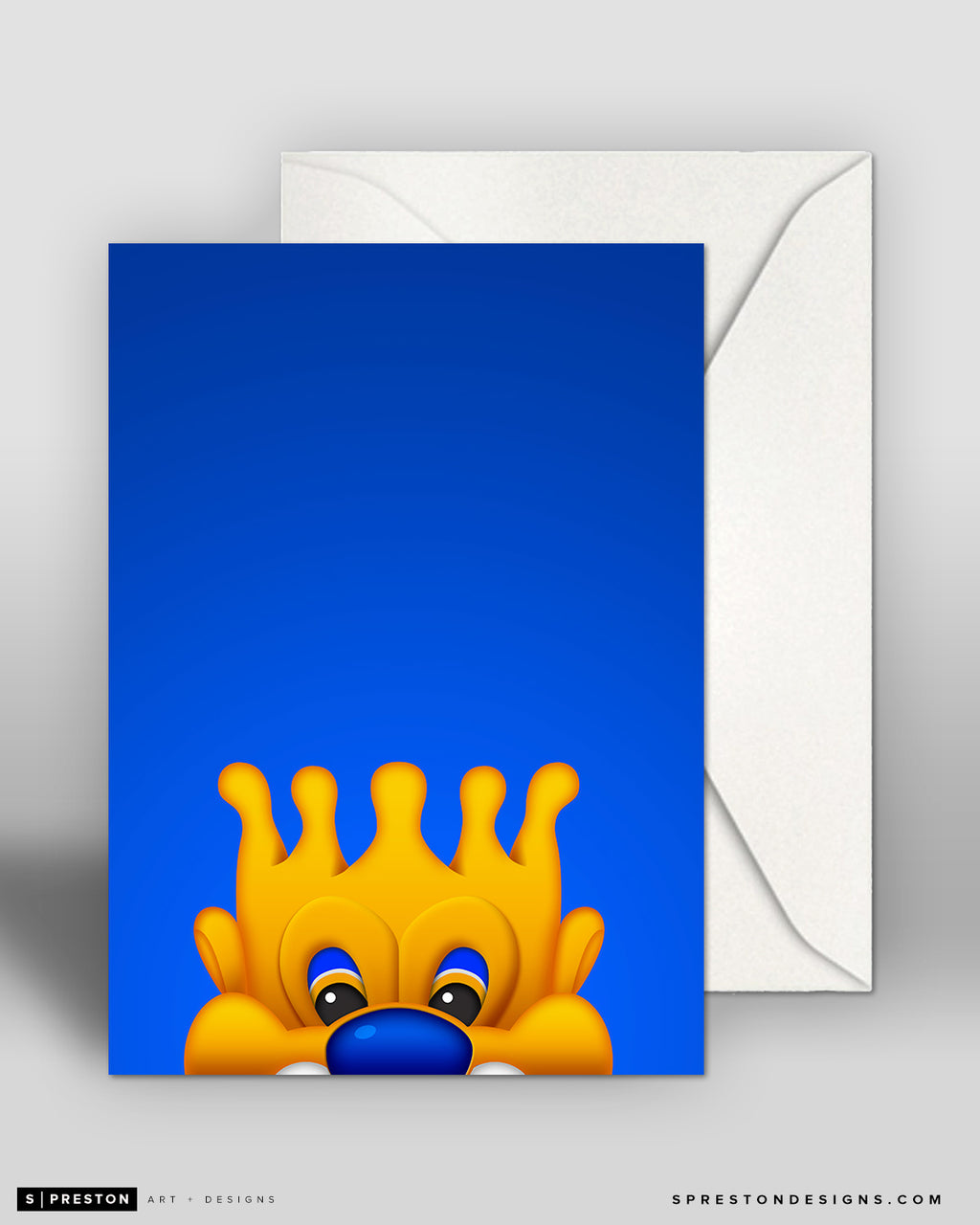 Minimalist Sluggerrr Notecard Notecards - Kansas City Royals - S. Preston Art + Designs