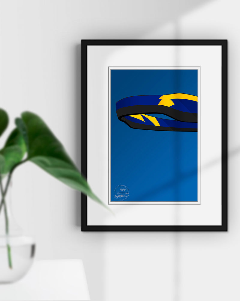 Minimalist SoFi Stadium Los Angeles Chargers S. Preston