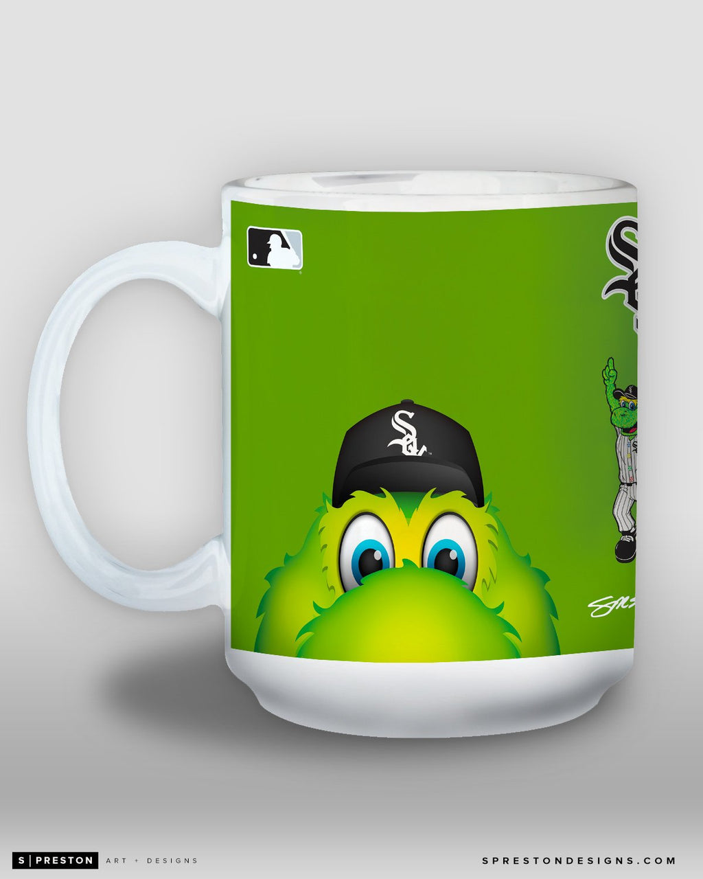 Minimalist Southpaw Coffee Mug - MLB Licensed - Chicago White Sox Mascot