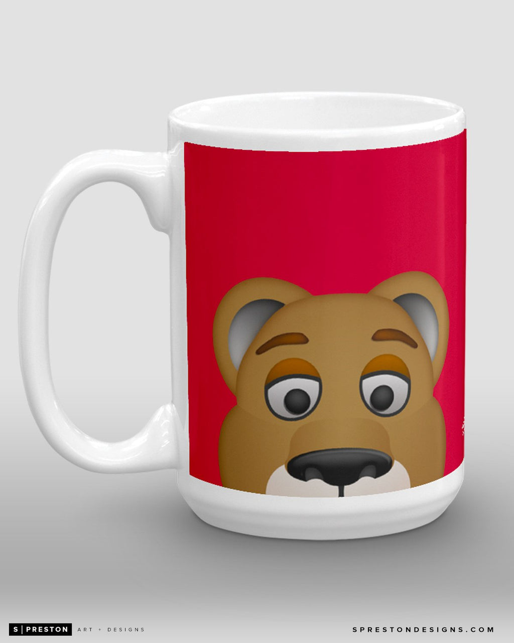 Minimalist Stanley C. Panther Coffee Mug - NHL Licensed - Florida Panthers Mascot
