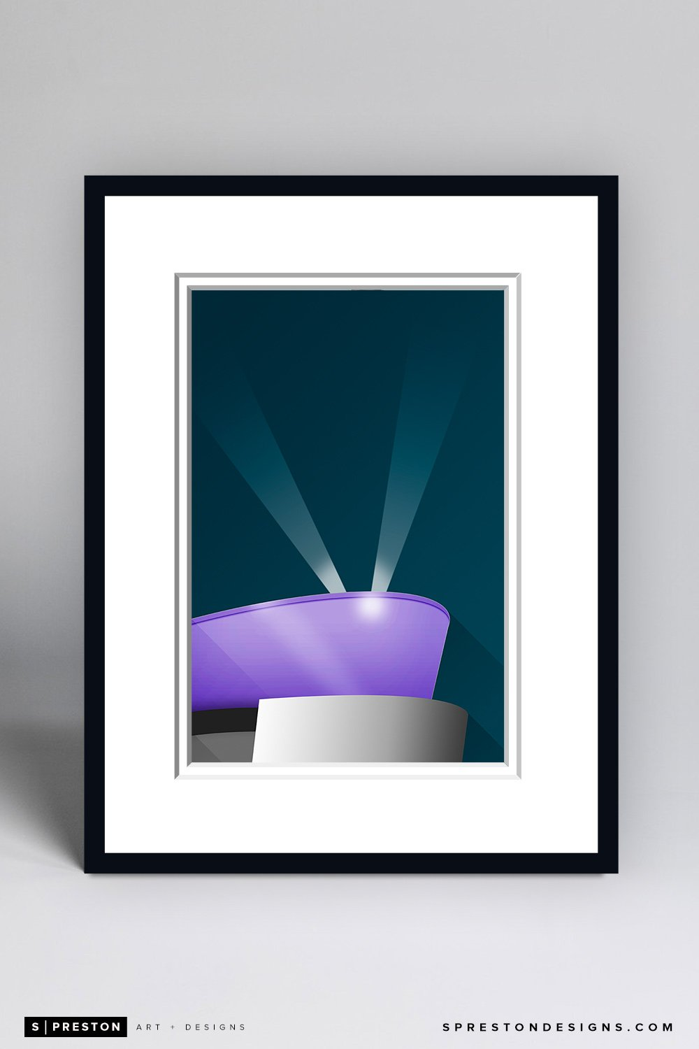 Minimalist STAPLES Center Framed - CLEARANCE