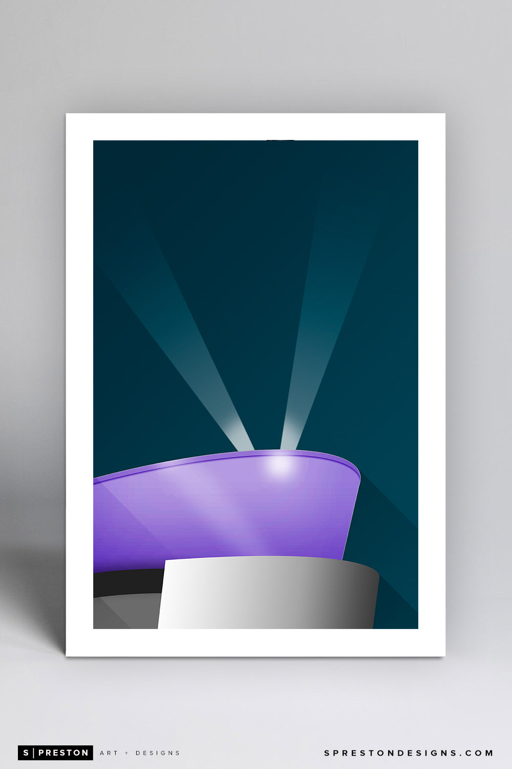 Minimalist STAPLES Center - Los Angeles Kings - S. Preston