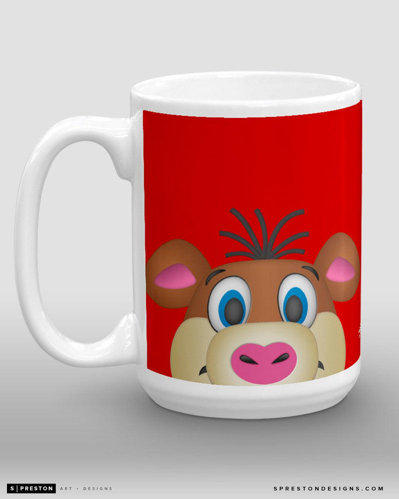 Minimalist Stormy Coffee Mug - NHL Licensed - Carolina Hurricanes Mascot