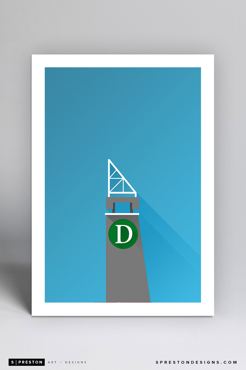 Minimalist Three River Stadium Art Print - Pittsburgh Pirates - S. Preston Art + Designs