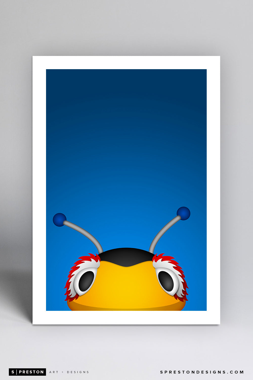 Minimalist Thunderbug - Tampa Bay Lightning - S. Preston