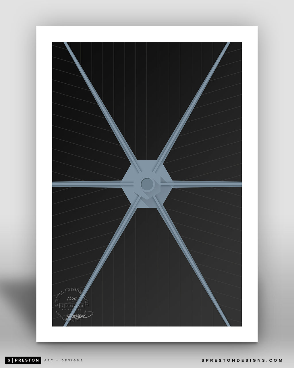 Minimalist Movies - Tie Fighter - Star Wars - S. Preston