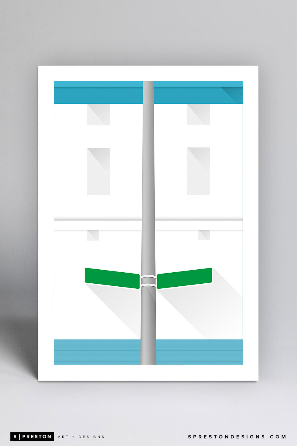 Minimalist Tiger Stadium - Detroit Tigers - S. Preston