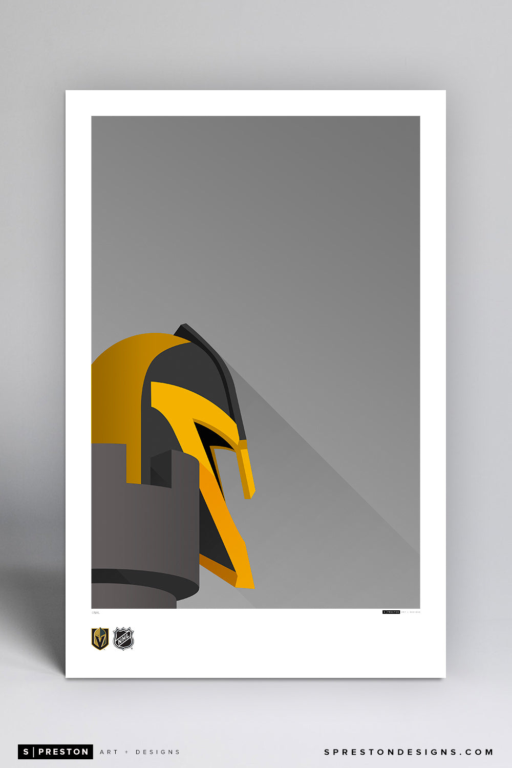 Minimalist T-Mobile Arena Art Poster