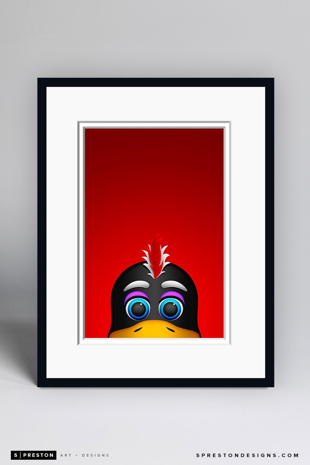 Minimalist Tommy Hawk Framed - CLEARANCE