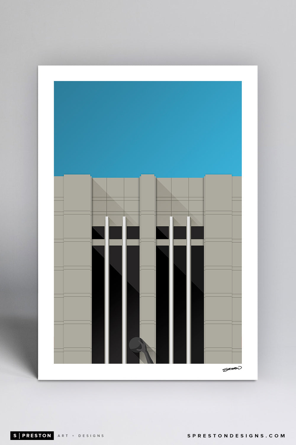 Minimalist United Center