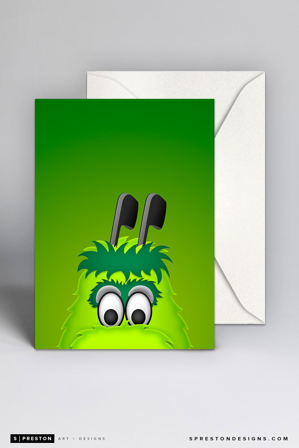 Minimalist Victor E Green Note Card