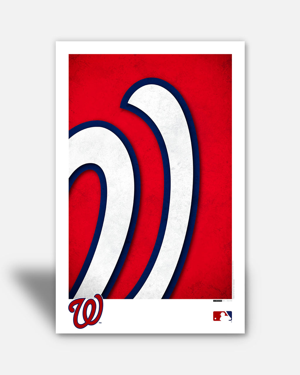Minimalist Logo - Washington Nationals