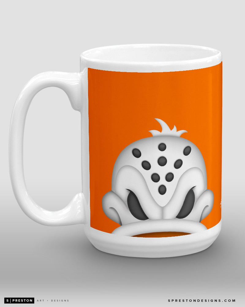 Minimalist Wild Wing Coffee Mug - NHL Licensed - Anaheim Ducks Mascot