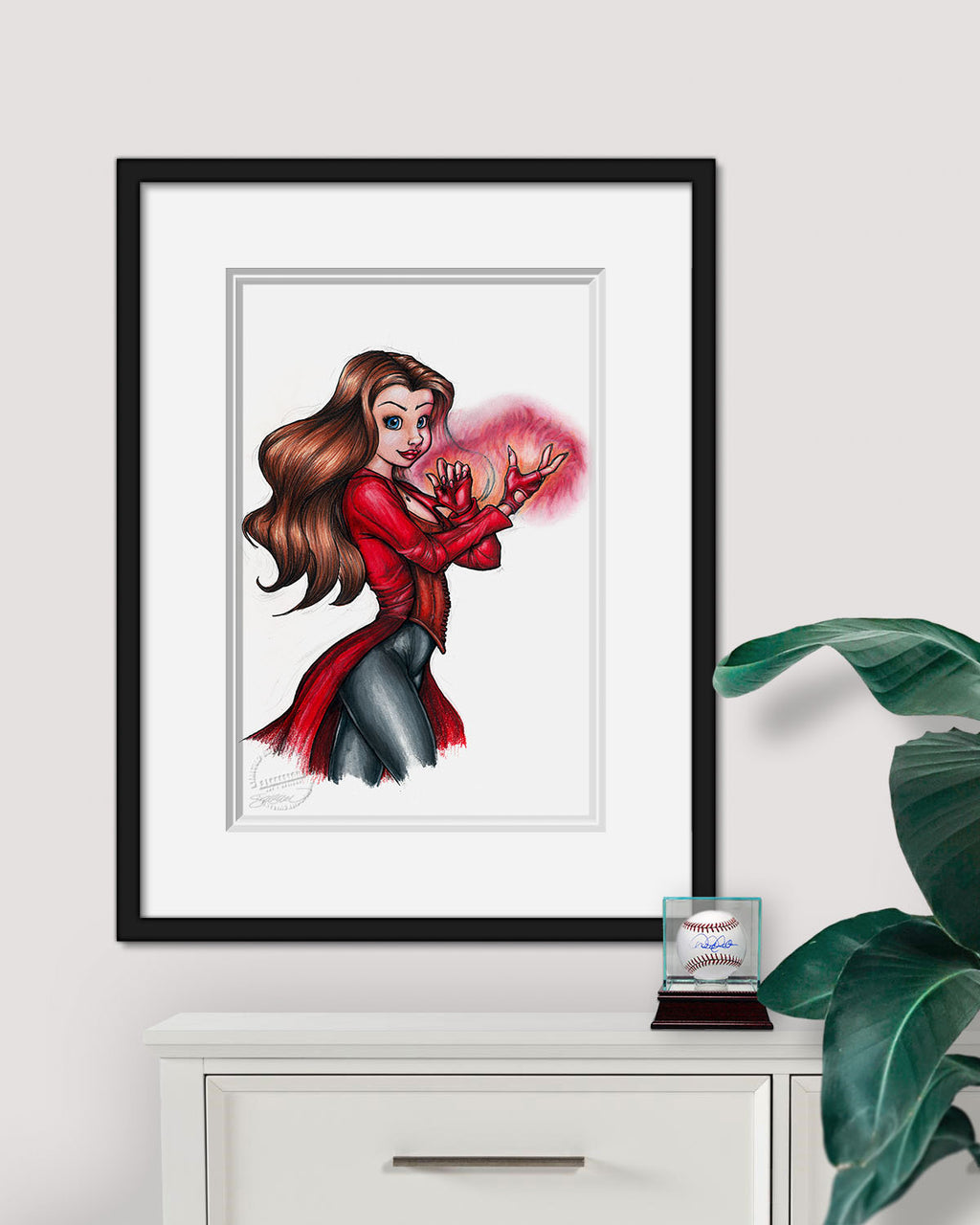 A Witch Called Wanda Limited Edition Print
