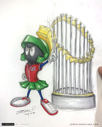 World Series Marvin The Martian - Nationals