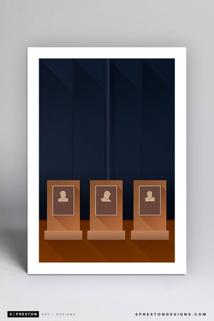 Minimalist Old	Yankee Stadium - New York Yankees - S. Preston