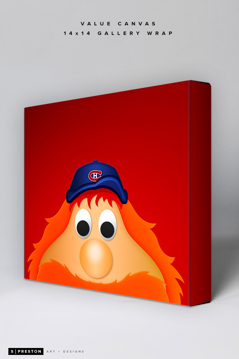 Minimalist Youppi! Value Canvas CLEARANCE