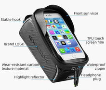 Load image into Gallery viewer, Water Repellent Touchscreen Phone Pouch | BicycleClicks