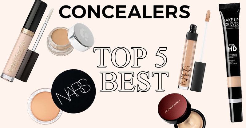 Top 5 Best Concealers To Try!