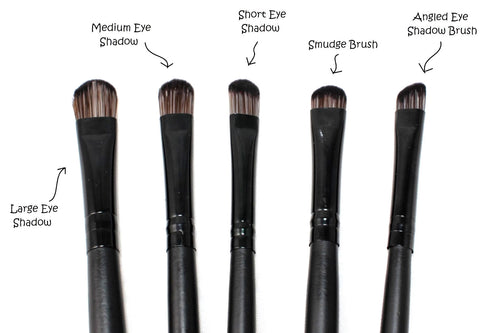 makeup brushes and their uses. concealer brush - used to apply on face effectively cover up any dark spots and/or blemishes. makeup brushes and their uses