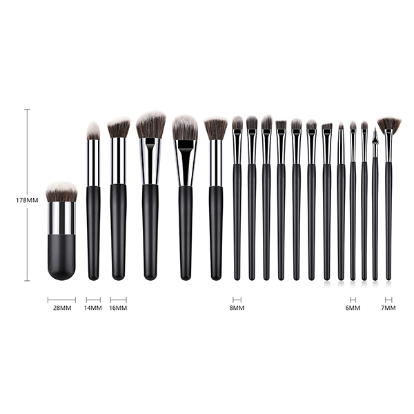 18 Piece Professional Makeup Brush Set