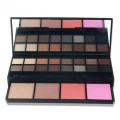 20 Color Professional Makeup Kit with Eyeshadow Brush and Mirror