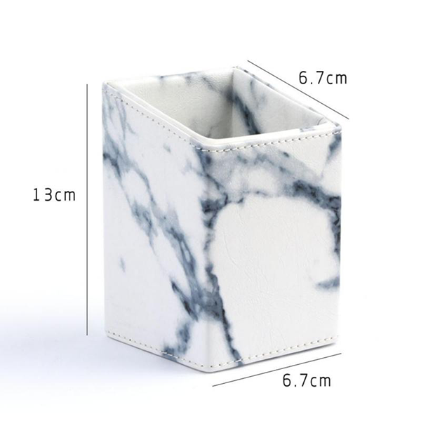 Marble Brush Holder