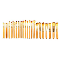 Wooden Piece Master Makeup Brush Set