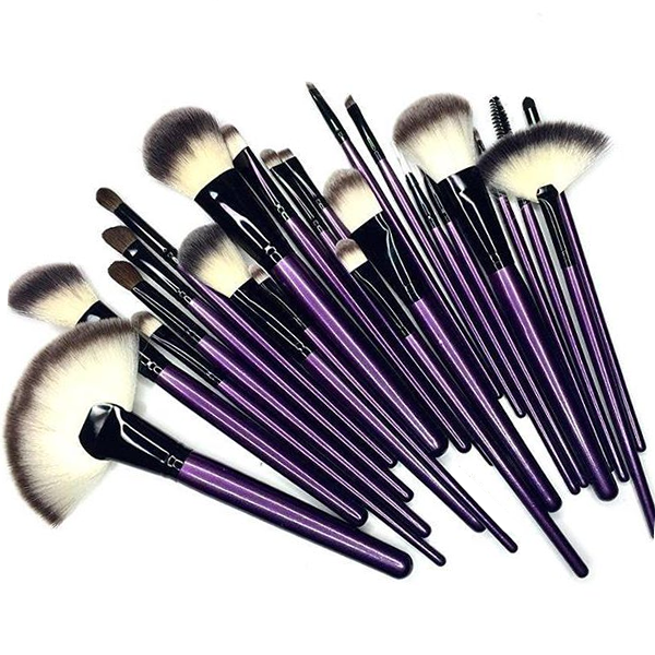 Purple Tulip 24 Piece Brush Set
