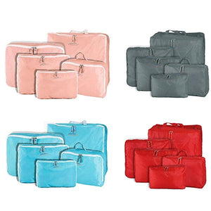 5-Piece Travel Bag Organizer Set - Assorted Colors