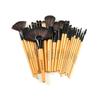Premium Wood Brush Set (24 Piece)