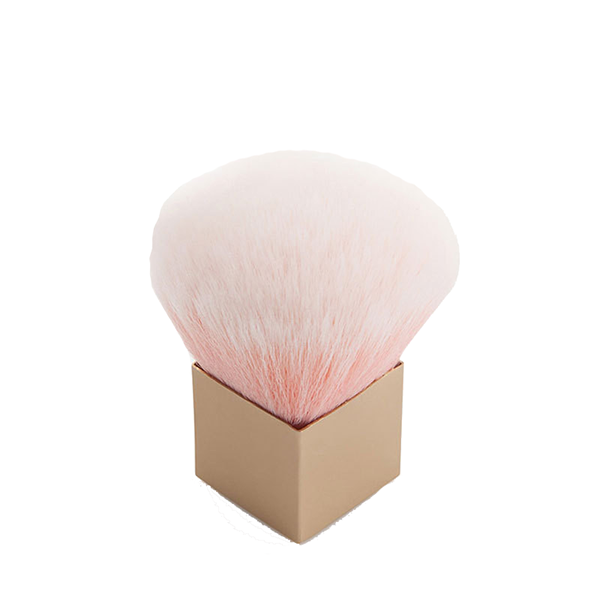Rose Gold Mini Kabuki Brush