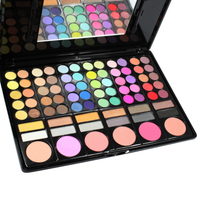 78 Color Makeup Palette , Beauty Blender - My Make-Up Brush Set, My Make-Up Brush Set  - 2