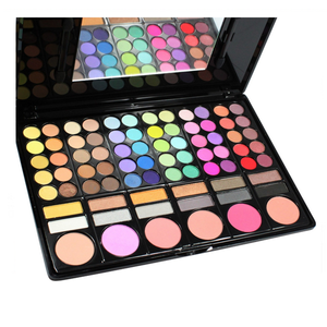 78 Color Makeup Palette , Beauty Blender - My Make-Up Brush Set, My Make-Up Brush Set  - 1