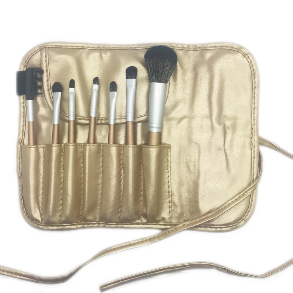 7 Piece Glamour Makeup Brush Set