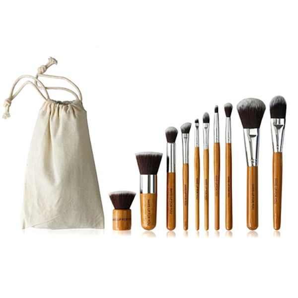 Bamboo Brush Set (10 Piece)