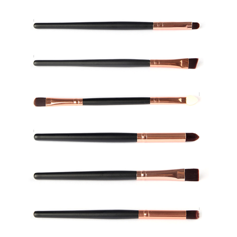 6 Piece Professional Makeup Brushes Set