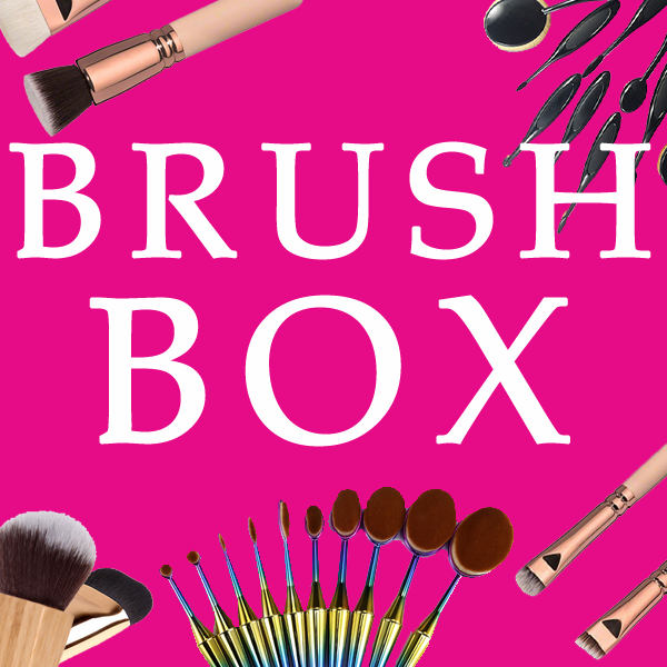 BRUSH BOX By My Makeup Brush Set