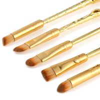 Gold Plated Magic Brush Set