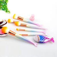 Mermaid Dream Glam Brush Set