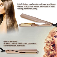 Pro 2-in-1 Hair Curling and Straightening Iron