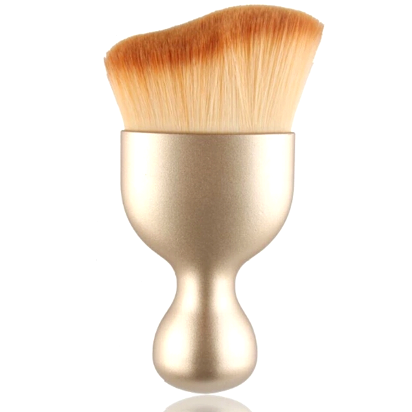 S-Shape Multi-functional Brush [Pre-Release] Glitter Golden, Make Up Brush - My Make-Up Brush Set - US, My Make-Up Brush Set  - 1